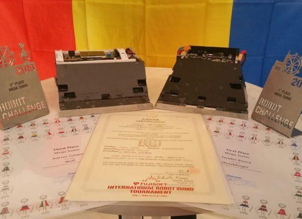 Echipa de robotica Flex participa la cel mai mare concurs din lume de sumo robotic