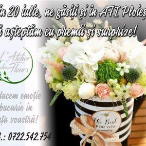Tu stii ca in AFI Ploiesti ai un atelier de flori doar al tau?