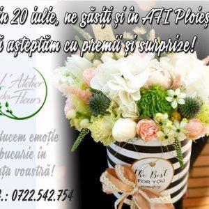 Atelierul tau de flori!