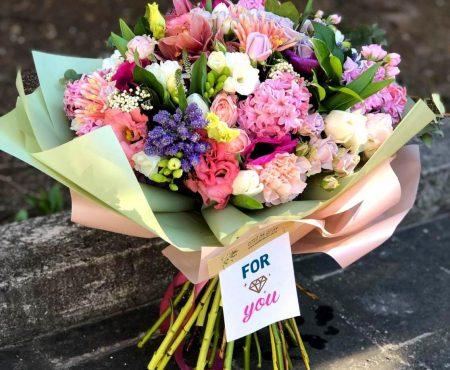 Florile, stare de bine si sarbatoarea de duminica!