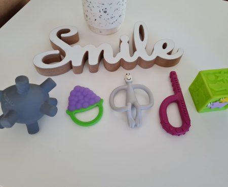 Eruptia dentara la bebelusi! Top 5 accesorii utile!